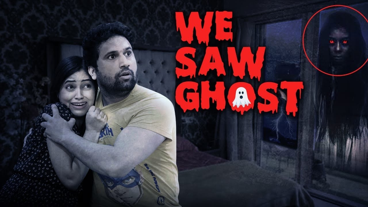 We Saw Ghost In Bedroom😰It's Horrible🥶U Should Not Watch This Video(Horror App Challenge)Be Natural