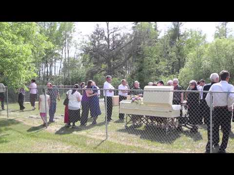 Graveside - Harvey Reimer's Funeral