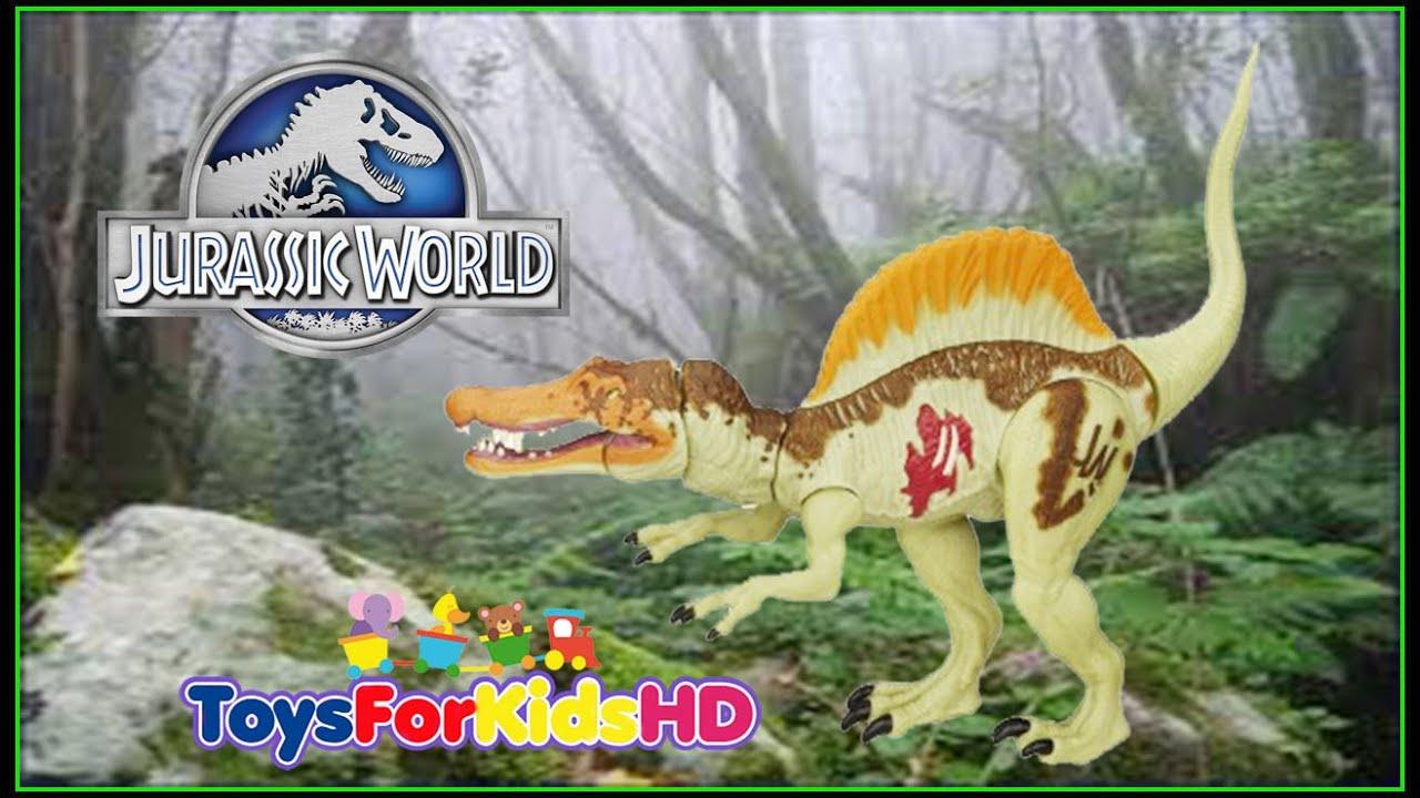 Jurassic World Spinosaurus - Juguetes de Dinosaurios - Juguetes de ...