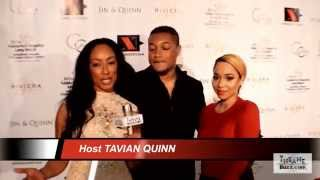 Tavian Quinn, Derrick Whitney, and Lia Monet Red Carpet Interview. Miller's Children's Hospital