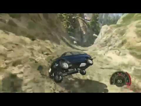 Walau Kecelakaan Jatuh ke Jurang Mobil Wuling ini masih bisa jalan luar biasa 3D ini.
