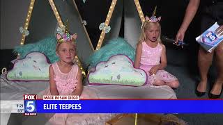Elite Teepees on Fox5 News!