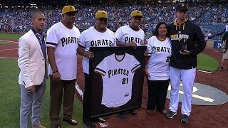 BOS@PIT: Morton nominated for Roberto Clemente Award