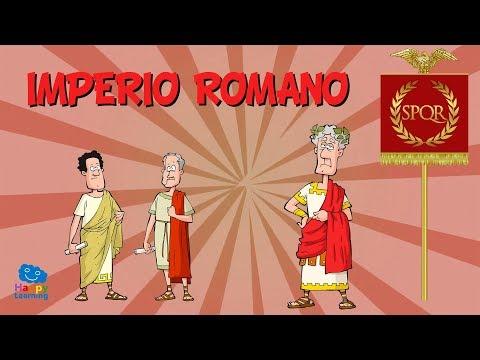 EL IMPERIO ROMANO | Vídeos Educativos Para Niños