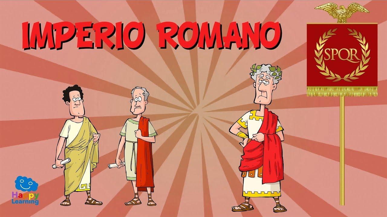El Imperio Romano Vídeos Educativos Para Niños
