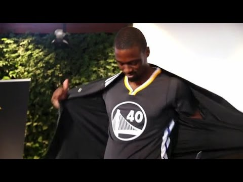 Behind the Scenes of the Warriors Alternate Jersey Unveiling