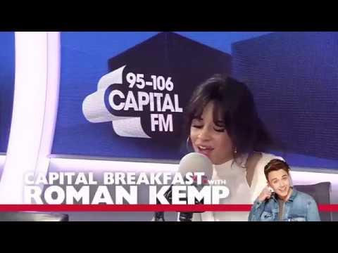 """Camila Cabello """"Despacito"""" (spanish version) Cover at Capitalfm Interview"""