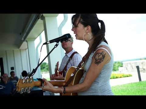 Karen Jonas and Tim Bray at Big Cork Vineyard