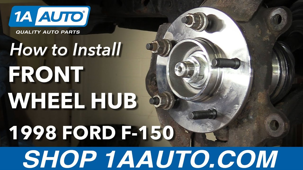 How to Replace Front Wheel Bearing Hub Assembly 9799 Ford