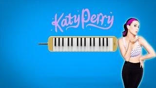 Como tocar: Hot and cold - katy perry [ MELODICA ][ TUTORIAL ][ NOTAS ]