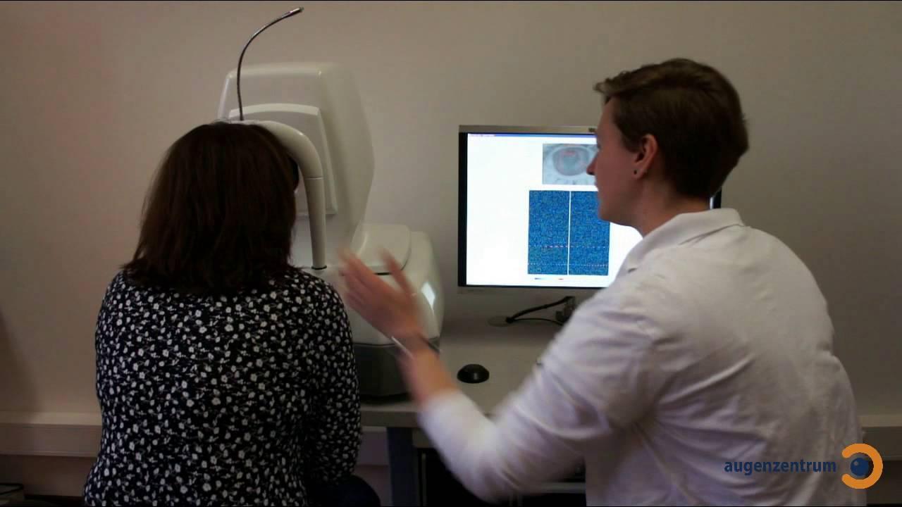 OCT Untersuchung der Netzhaut und Makula - Augenzentrum in München