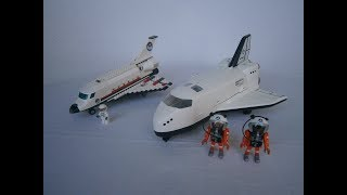 Lego Comparison : Space Shuttle - Lego Vs Playmobil