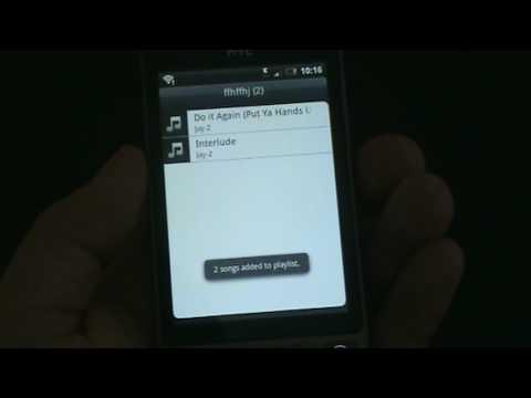 HTC Hero: Music Player & Multimedia
