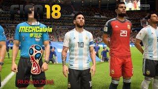 FIFA 18 世界盃 [直播] -  阿根廷E4 - 16強被淘汰 [傳奇級]