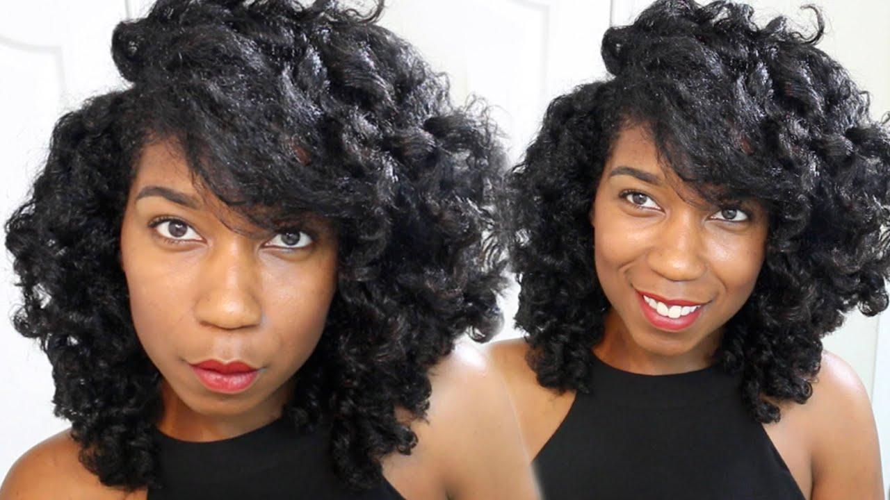 QUICK Soft Loose Waves Hairstyle No Bantu