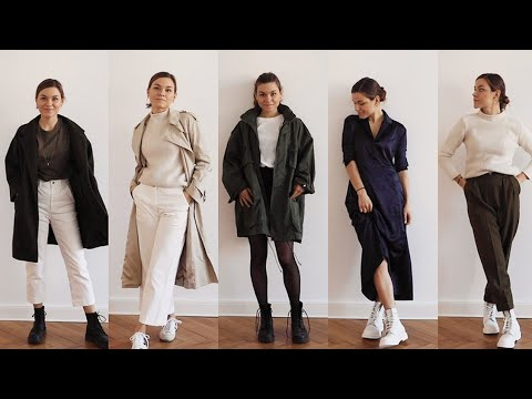 [VIDEO] - 10 Vintage + Fair Fashion Outfits für den Winter 2