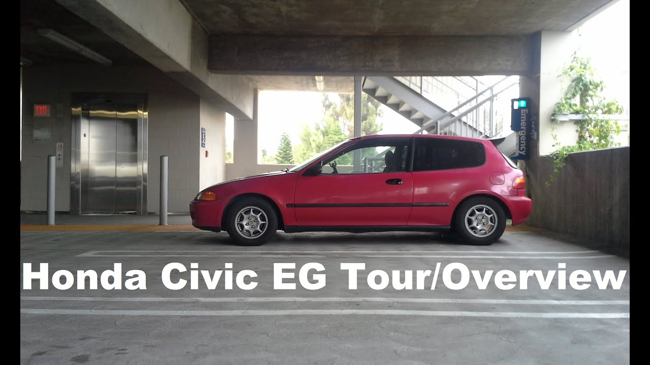 1995 Honda Civic EG Hatchback TourOverview YouTube