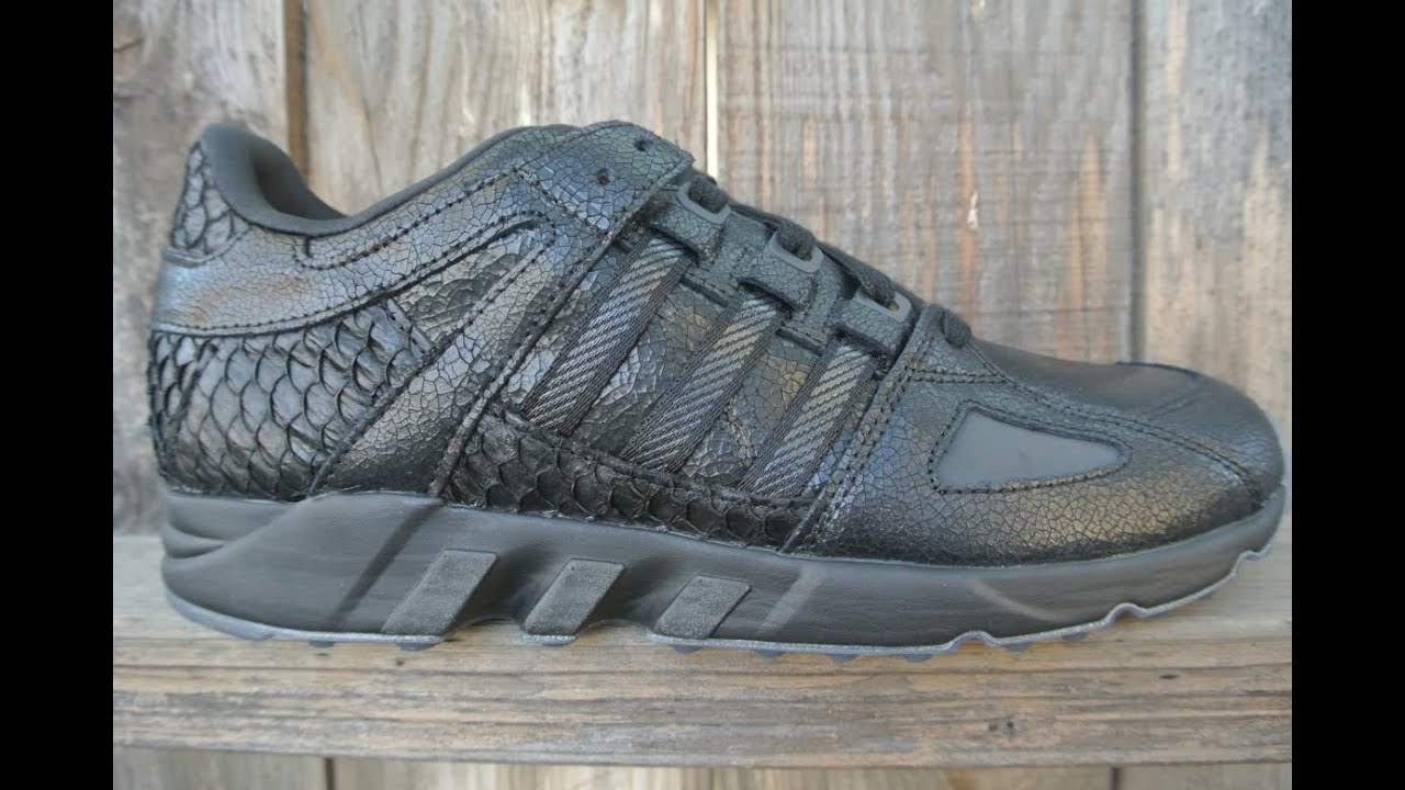 Adidas x Pusha T EQT Running Guidance 'Black Market' (Black) End