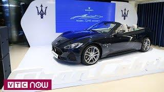 """Maserati Grancabrio: Cho các """"bóng hồng"""" không thể rời mắt"""