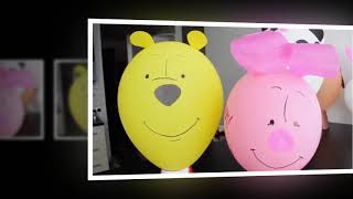 Party Decorations - How to Make a Balloon Decoration. Easy and Cheap
