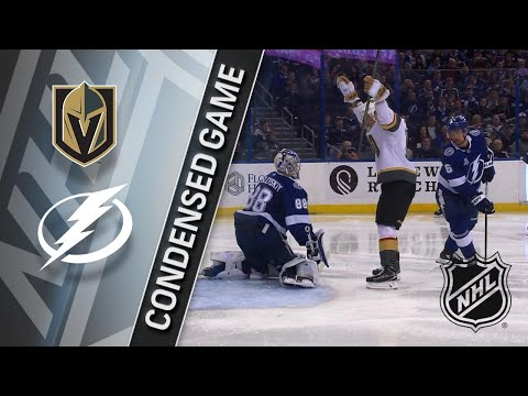 01/18/18 Condensed Game: Golden Knights at Lightning