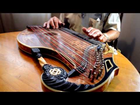 Rolf Playing the Zither