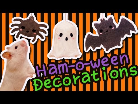 👻 Halloween Cage Decorations | HAMSTER DIY 🕸