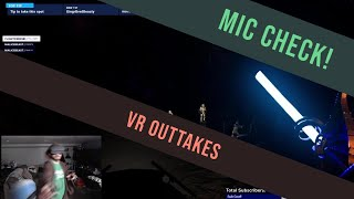 VR - Outtakes - MIC Check, 1, 2, 3... - Vader Immortal