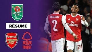 Résumé : Arsenal massacre Nottingham Forest 5-0