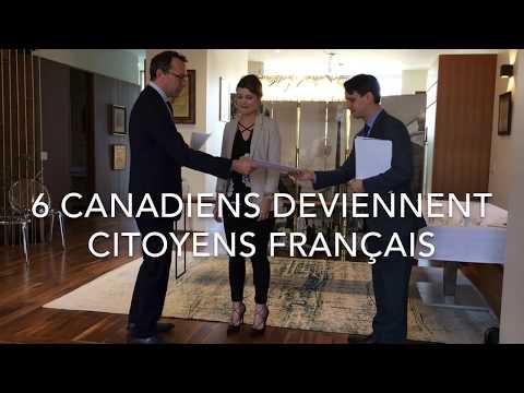 Cérémonie d'accueil dans la nationalité française, Toronto, 24 novembre 2017