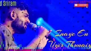 Cover images Inaye En Uyir Thunaiye - Sid Sriram - Tamil Hit Songs