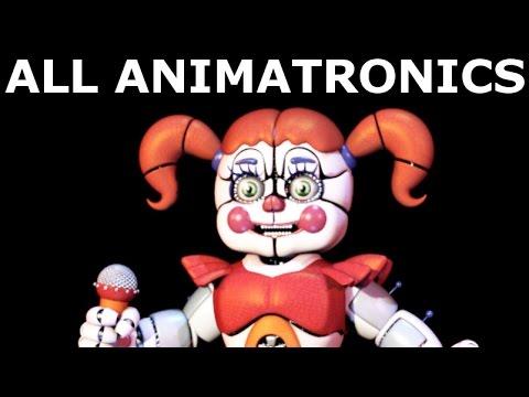 Download Five Nights at Freddy's Sister Location - All Animatronics | Secret Animatronic (Extras)