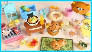 Rilakkuma Beach House RE-MENT Miniature Dollhouse Toy Collectible Figure [FULL SET]