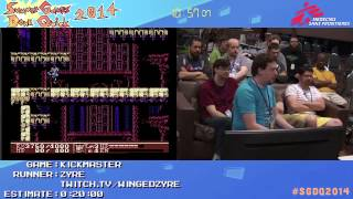 Summer Games Done Quick 2014 - Part 49 - Kickmaster