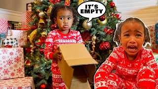 NO GIFTS FOR CHRISTMAS PRANK  😭💔 (Ava Cried)