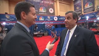 Chris Christie: I Have More Experience Than Marco Rubio