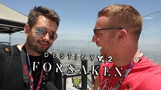 MOJE PIERWSZE DUO Z ROJO! DESTINY 2 FORSAKEN (E3 2018 GAMEPLAY)