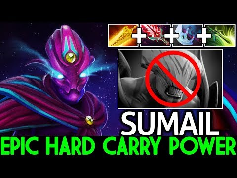 SUMAIL [Spectre] Epic Hard Carry VS Pro Faceless Void WTF Plays 7.22 Dota 2