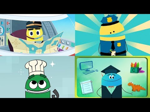 StoryBots | What To Be When You Grow Up | Songs About Professions For Children 👩🏻✈️👩🏾🚀👨🏽🍳👨🏻🏫