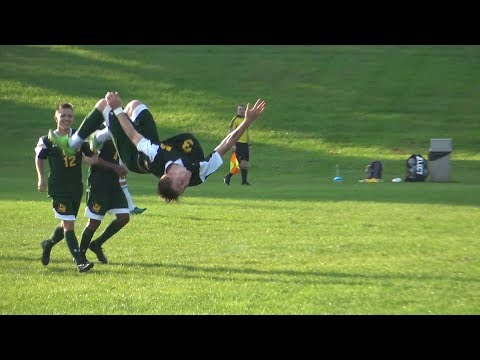 10 1 18 Mercer County Community College vs Sussex County Community College Men's Soccer Highlights