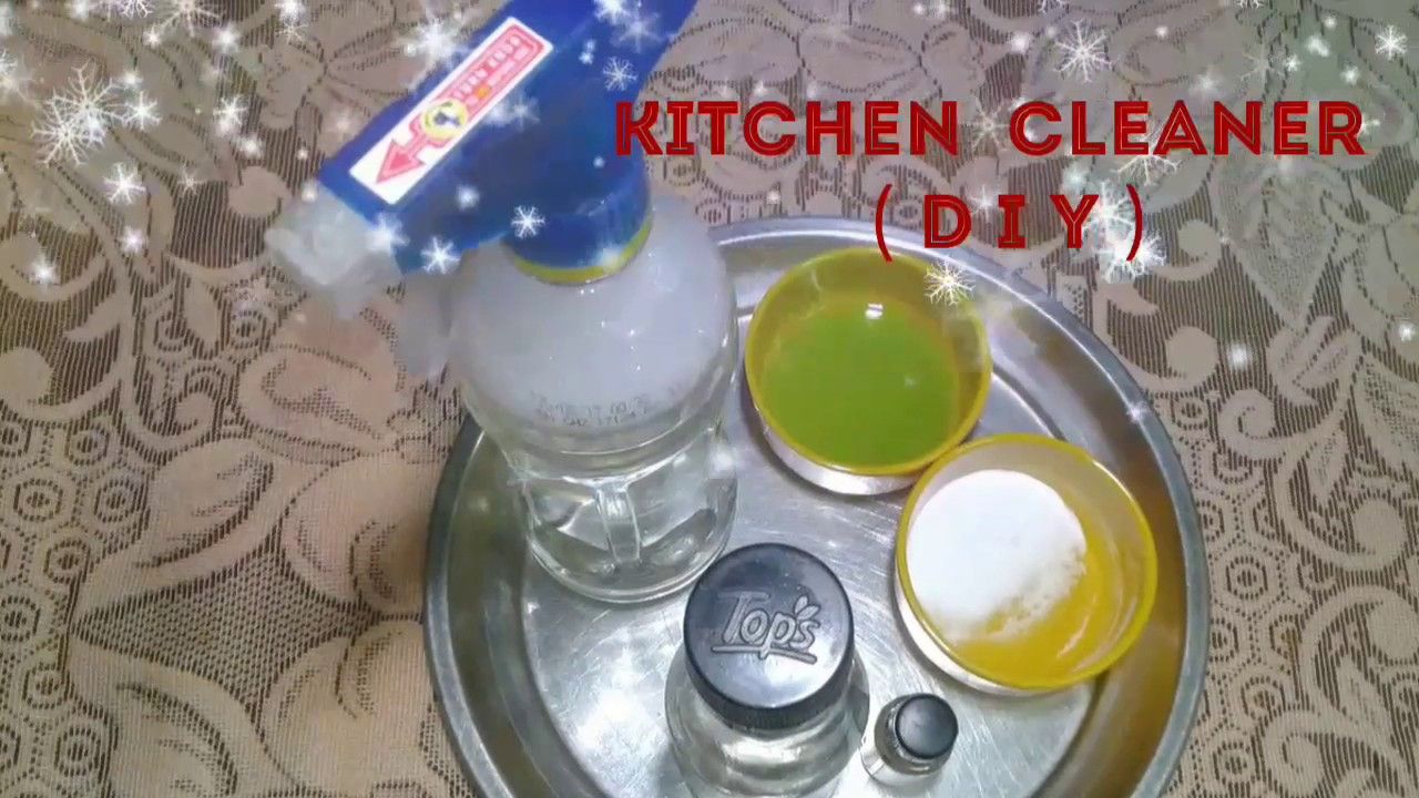 Diy Cleaner for Kitchen/ Cleaning Hacks/ Make Your Own Natural ...