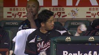 【プロ野球パ】清田、早くも11号!2試合連続の一発は逆転3ラン弾 2015/07/24 E-M