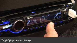 Sony Xplod MEX-BT3900U Car Receiver Display And Controls Demo | Crutchfield Video