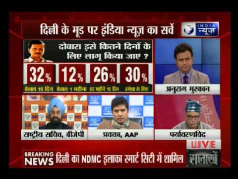 India News special survey on Odd-Even Formula