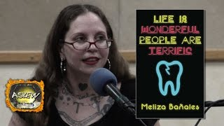 Meliza Bañales aka Missy Fuego reads at the EP Foster Library