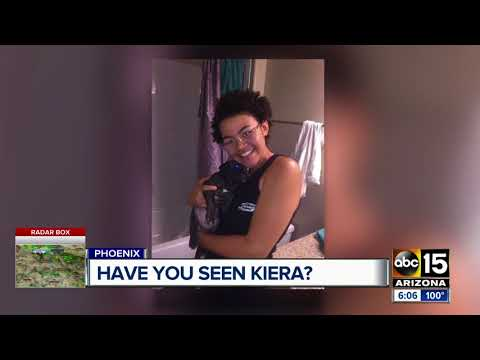 Family Frantically Searching For Teen Kiera Johnson Who Has Gone Missing