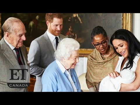 Queen Elizabeth Meets Baby Archie