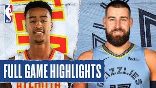 HAWKS at GRIZZLIES | FULL GAME HIGHLIGHTS | March 7, 2020
