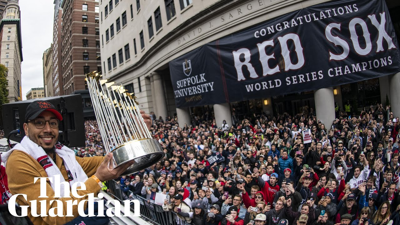 6f00cec9cf0412 Boston Red Sox celebrate emphatic World Series win with victory parade