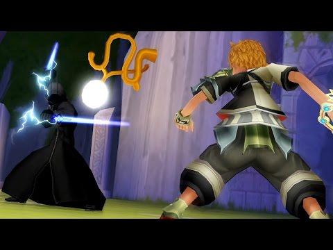 Kingdom Hearts Birth By Sleep: Mysterious Figure Secret Boss Fight (PS3 1080p)